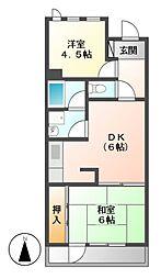 エクセルハイツ瑞穂[2階]の間取り