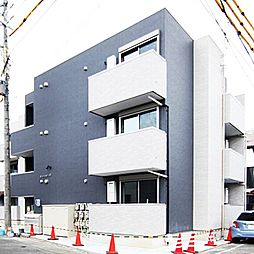 愛知県名古屋市中川区柳瀬町3丁目の賃貸アパートの外観