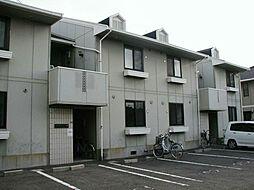 ホワイトハイツ八幡[2階]の外観