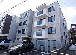 北海道札幌市西区山の手二条4丁目の賃貸マンションの外観