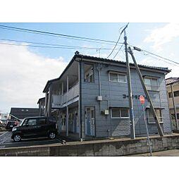 新潟県新潟市東区粟山3丁目の賃貸アパートの外観