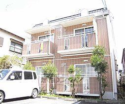 京都府京都市北区衣笠開キ町の賃貸アパートの外観
