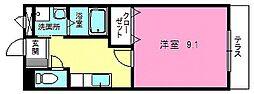 (仮称)湖南市平松北新築アパート[2階]の間取り