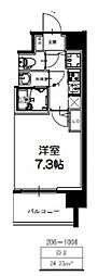 S-RESIDENCE新大阪Ridente[806号室号室]の間取り