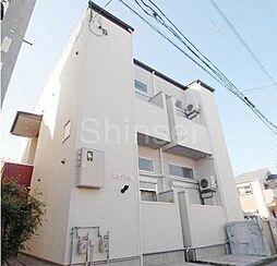大阪府堺市堺区出島海岸通3丁の賃貸アパートの外観