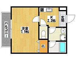 メゾンFuji[2階]の間取り