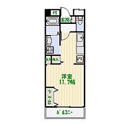 東京都葛飾区青戸5丁目の賃貸マンションの間取り
