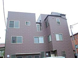 東京都大田区大森北3丁目の賃貸アパートの外観
