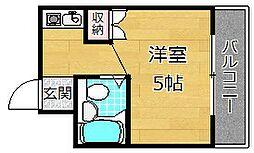 PAL House K[2階]の間取り