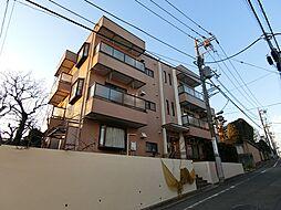 東京都目黒区自由が丘3丁目の賃貸マンションの外観