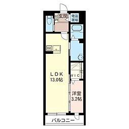 alouetteIII[3階]の間取り