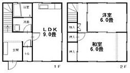 広島県呉市広長浜5丁目の賃貸アパートの間取り