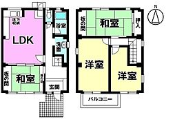 生活施設が充実したエリアに佇む中古戸建 通勤・通学に便利なJR武豊線亀崎駅まで徒歩7分の好立地です