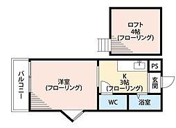 アップルハウス葉山[1階]の間取り