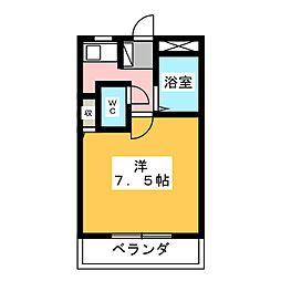 コーポ郷西A[2階]の間取り
