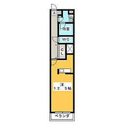 YB・haus[3階]の間取り