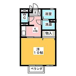 M's court[2階]の間取り