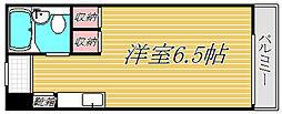 シャレー祐天寺カワベ第10[2階]の間取り