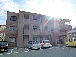 兵庫県宝塚市南ひばりガ丘2丁目の賃貸マンションの外観