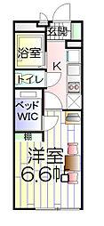 神奈川県横浜市港南区丸山台4丁目の賃貸マンションの間取り