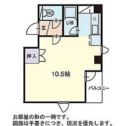 パークヒルズ文京台[3階]の間取り