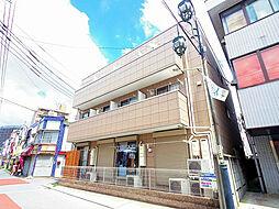 埼玉県狭山市大字東三ツ木の賃貸マンションの外観