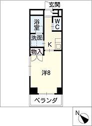 鹿乃子ビル[2階]の間取り