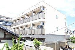 広島県広島市佐伯区五日市中央4丁目の賃貸アパートの外観
