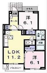 フェニックス・M[1階]の間取り