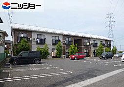 窪田コーポ A棟[1階]の外観