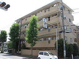 神奈川県川崎市幸区矢上の賃貸マンションの外観