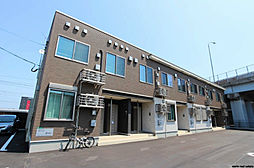 福岡県北九州市小倉北区日明5丁目の賃貸アパートの外観