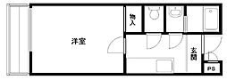 ラ・フェスタ 下池田[201号室]の間取り