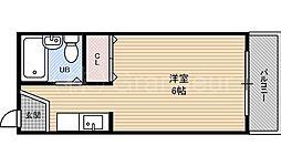 メゾン桜ノ宮[4階]の間取り