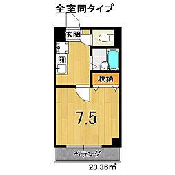 SUNSHINE東山[2階]の間取り