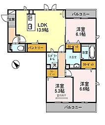 仮称)D−room和泉市池上町3丁目[1階]の間取り