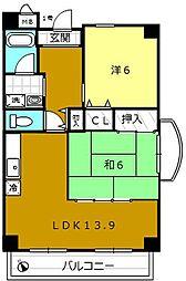 ガランテ・アベニダ[9階]の間取り