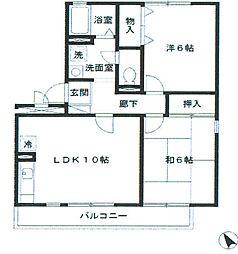 グリーンハウスIII[2階]の間取り