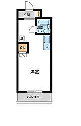 コスモヒロ南台[3階]の間取り
