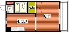 メゾン東雲I[5階]の間取り