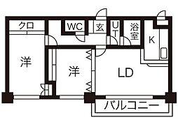ASKAM'S17(アスカエムズ)[402号室]の間取り