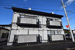 栃木県宇都宮市吉野1丁目の賃貸アパートの外観