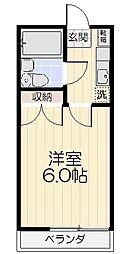 ジャパンビル鎌倉[202号室]の間取り