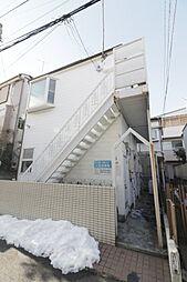 東京都豊島区巣鴨3の賃貸アパートの外観
