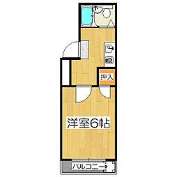 パサージュI[2階]の間取り
