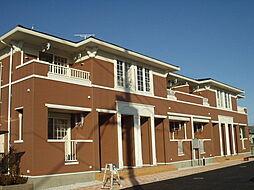 群馬県高崎市西横手町の賃貸アパートの外観