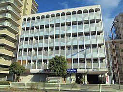 大阪府大阪市東住吉区湯里6丁目の賃貸マンションの外観