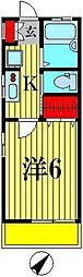 MISAKIII[202号室]の間取り