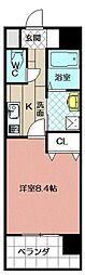 ブルースクエアー響IV[402号室]の間取り