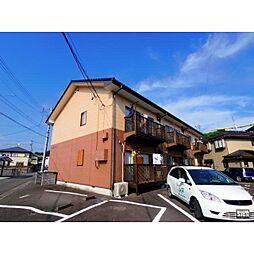 静岡県静岡市葵区平和3丁目の賃貸アパートの外観